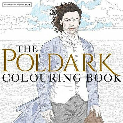 The Poldark Colouring Book - Paperback - Brand New