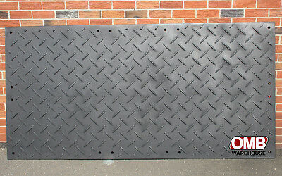 Alturnamats  4' X 8' Ground Cover Mats Smooth One Side Construction SkidSteer