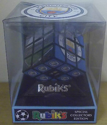 Manchester City FC ~ Rubik's Cube ~ Official 2016 Special Collectors Edition