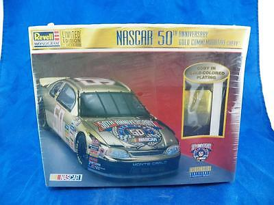 Revell Monogram Limited Edition Nascar 50th Anniversary Gold Comm. Chevy NIB
