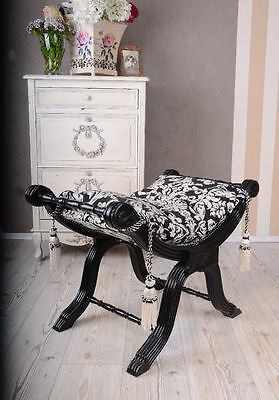 Historical Stool Bench Gondola Baroque Stool Antique