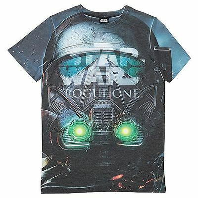 NEW Star Wars Rogue One Short Sleeve Print T-Shirt Kids
