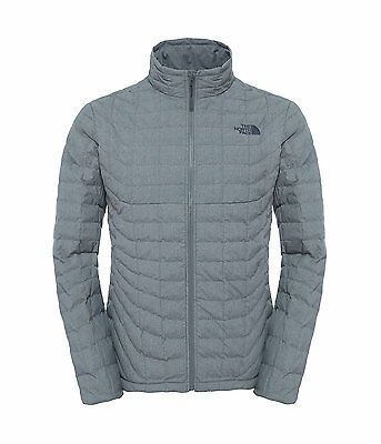 The North Face Men's THERMOBALL Insulated Stowable Jacket Fusebox Grey Texture M