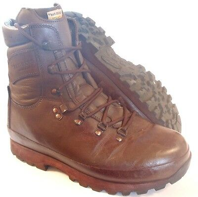 British Army Altberg Defender Combat Brown Boots - Various Sizes - Grade 1 Used