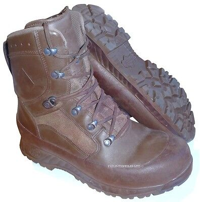 British Army - Haix Combat Brown Liability Boots - Various Sizes - Grade 1 Used