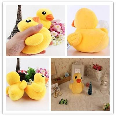 1pc Soft Plush Pet Dog Toy Cute Yellow Duck Squeaky Sound Toy For Small Dog Cats