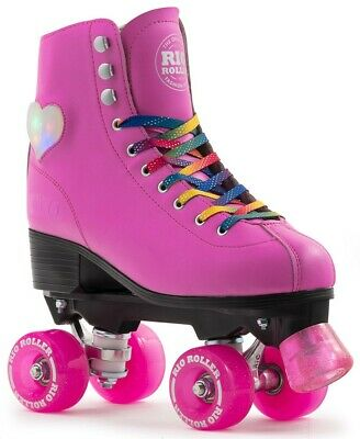 Rio Figure Lights Quad / Roller Skates - Pink Rollerskates Senior & Junior