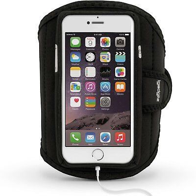 "Fascia da Braccio Armband per Apple iPhone 7 4.7"" Sport Corsa Jogging Cover"