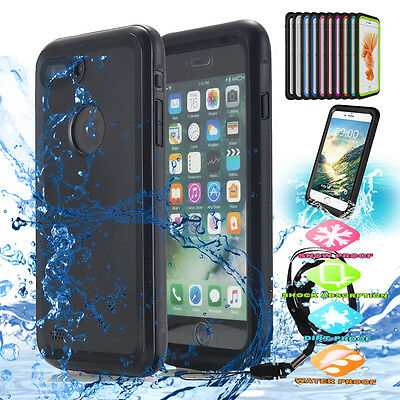 fr Apple iPhone 7 / 7 Plus Shockproof Waterproof Dirt-Proof Hard Case Full Cover
