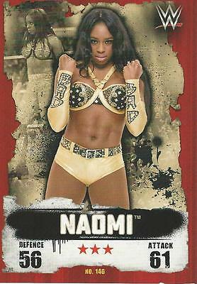 WWE NXT Topps Slam Attax Takeover Cards 2016 Naomi