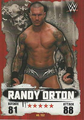 WWE NXT Topps Slam Attax Takeover Cards 2016 Randy Orton