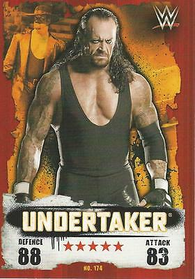 WWE NXT Topps Slam Attax Takeover Cards 2016 Undertaker