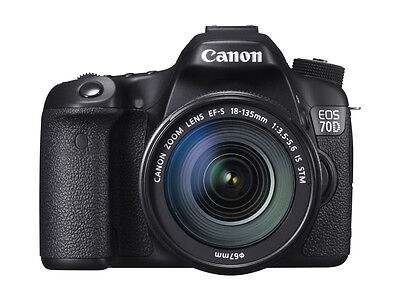 Canon Eos 70D Kit Ef-S 18-135 Is Stm