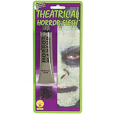 Halloween Horror Fancy Dress Party Costume Accessory Theatrical Grey Flesh