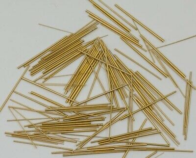 Watch bracelet link taper pins 100x brass assorrted mix sizes pin tapered strap
