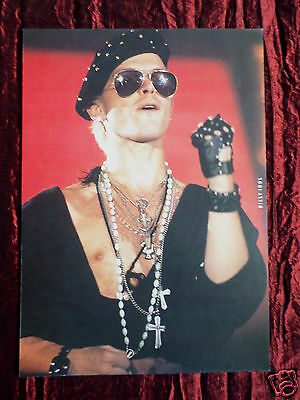 Billy Idol - Rock/ Pop Star - 1 Page Picture - Clipping / Cutting -#1