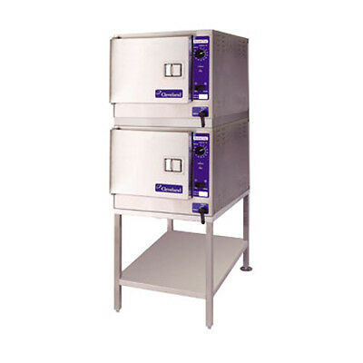 Cleveland 22CET33.1 SteamChef™ 3 High Efficiency Convection Steamer Double Stack