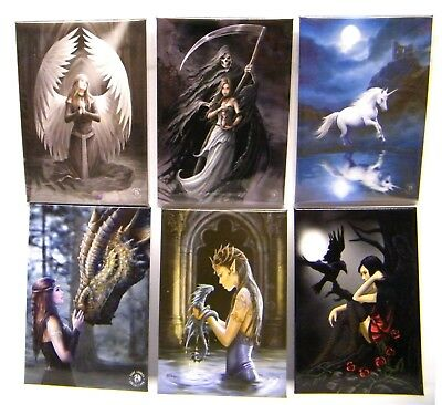 Fantasy Gothic Metal Fridge Magnet Anne Stokes Lisa Parker Mother's Day Gifts