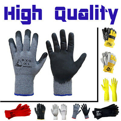 New Builders Safety Protective DIY Gardening Mechanics Carpenters Working Gloves