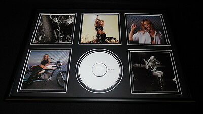 Kylie Minogue Framed 12x18 Body Language CD & Photo Display