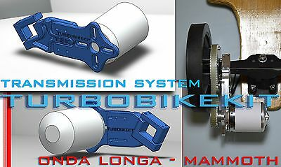 Transmission System Electric Conversion Onda Longa Mammoth Skateboard Longboard