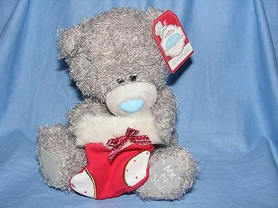 Me To You Tatty Teddy Christmas Bear With Stocking Nice Present  NEW G01W3302