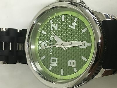 17788 - INVICTA Russian Diver Men 52mm Stainless Steel Green dial