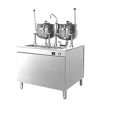 """Cleveland 36EMK6624 36"""" Wide Cabinet Base With 2 6 Gallon Kettles"""