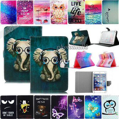 """Universal PU Leather Stand Case Cover For Samsung Galaxy Tab E 7"""" 8"""" 9.6"""" Tablet"""