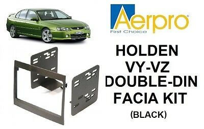 Aerpro - Holden Commodore Vy-Vz Double-Din Facia Kit Dash Panel Black