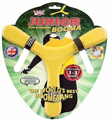 Wicked Junior Booma Fun and Safe Indoor Foam Boomerang Colour May Vary
