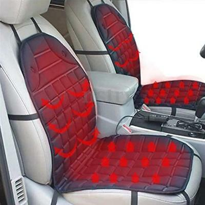 Universal Car Heated Seat Cover Cushion Heater Thermal Controller Warmer Pad AU