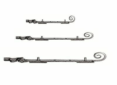 Carlisle Brass PE5541 - Hand Forged Pewter Monkeytail Stay - Pewter Effect