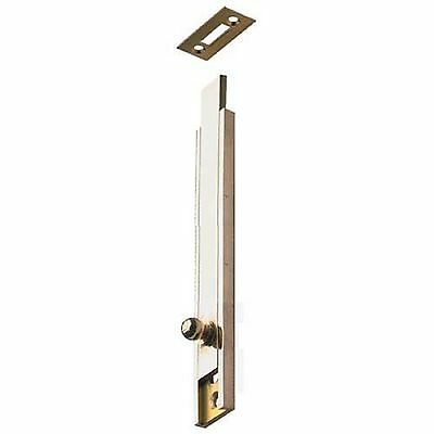 Furniture Bolt with Straight Slide Surface orSemi-Recessed Mounting Brass
