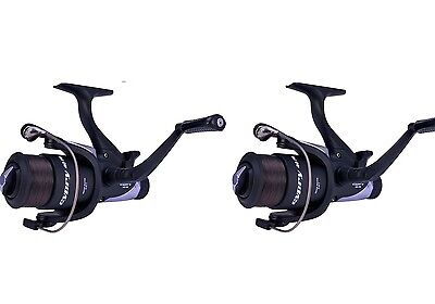 Shakespeare Cypry 60 Freespool Carp Fishing Reel Bait,Running Switch X 2