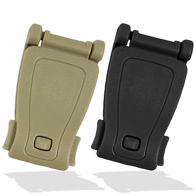Bulldog Plastic Belt Pouch to MOLLE Pouch Connector Converter Clip Attachment
