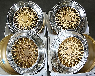 """18"""" Stag Rs Alloy Wheels Fits 5X100 Audi Vw Crysler Seat Skoda Toyota Volkswagen"""