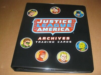 Justice League Archives Trading Card Binder Album