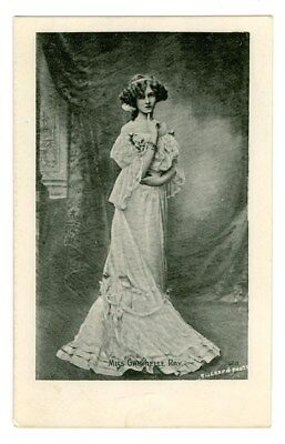 Tragic Stage Actress Gabrielle Ray Real Photo Postcard Free Shipping