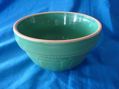 Vintage~Over~and~Back~Small~Green~Mixing~Bowl