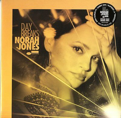 Jones Norah Day Breaks Vinile Lp 180 Gr. Deluxe Edition Colorato Arancione Nuovo