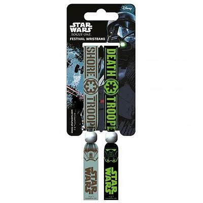 Official Licensed Product Star Wars Rogue One Festival Wristbands Empire Gift