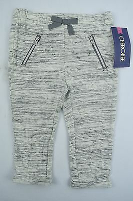 NEW Cherokee Infant/Toddler Boy's Zipper Pants, Gray, 18M, 3T, 4T, Free Shipping