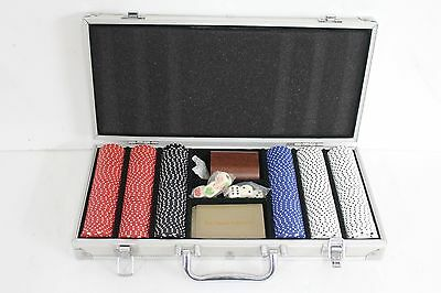 The Classic Collection Poker Chips Suit Case Collection