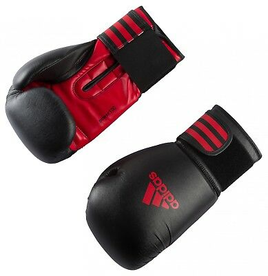 adidas POWER 100 BOXING GLOVE black/red
