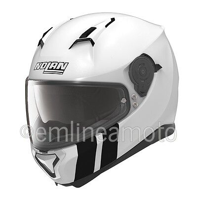 Helmet Full-Face Nolan N87 Martz 27 Metal White