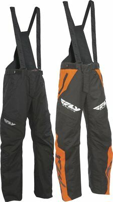 Fly Racing Mens SNX Pro Lite Waterproof Bib Snow Pants with Removable Suspenders