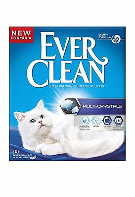 Ever Clean Multi-Crystals Cat Litter, 10 Litre