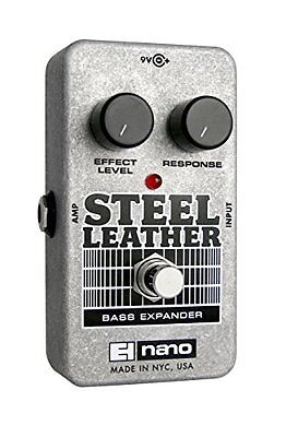 Electro Harmonix Nano Steel Leather · Bass Guitar Effects