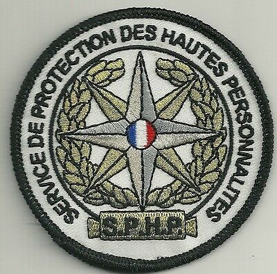FRANKREICH POLICE NATIONALE SPHP PROTECTION HAUTES PERSONES FRANCE Polizei Patch